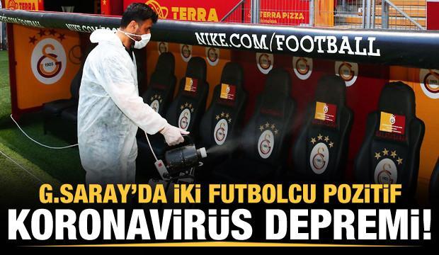 Galatasaray'da iki futbolcunun testi pozitif çıktı!