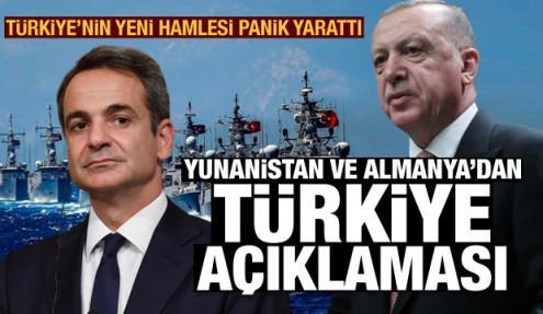 Doğu Akdeniz'de kriz: NATO, Yunanistan ve Almanya'dan Türkiye açıklaması, Ankara'dan cevap