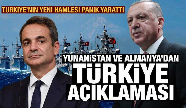 Gerilim had safhada! Yunanistan ve Almanya'dan son dakika Türkiye açıklaması