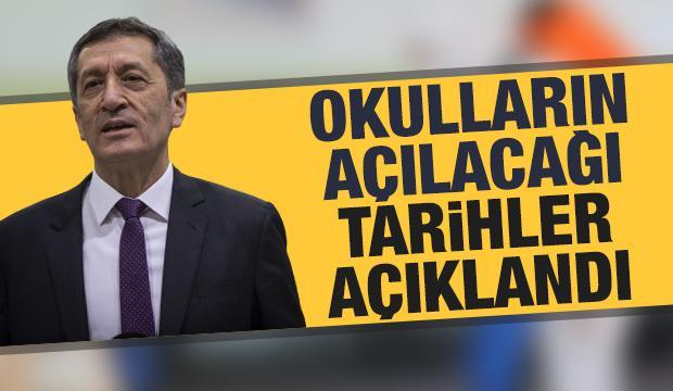 Okulların açılacağı yeni tarihler açıklandı! Bakan Selçuk'tan son dakika duyurusu