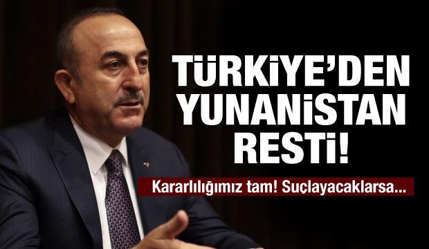 Türkiye'den Yunanistan resti!