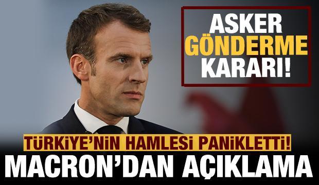 Türkiye'nin hamlesi panikletti: Fransa asker gönderiyor