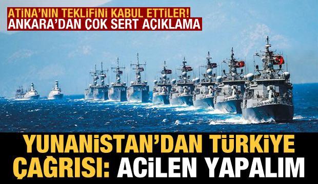 Yunanistan'dan Türkiye çağrısı: Acilen yapalım! AB teklifi kabul etti, Ankara'dan sert tepki