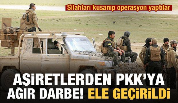 Aşiretlerden PKK'ya operasyon! Kasaba ve çok sayıda köy geri alındı