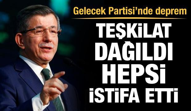 Davutoğlu'nun Ankara teşkilatı dağıldı, hepsi istifa etti