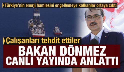 Türkiye'nin enerji hamlesini engellemeye çalışanlar deşifre oldu: Çalışanları tehdit etmişler