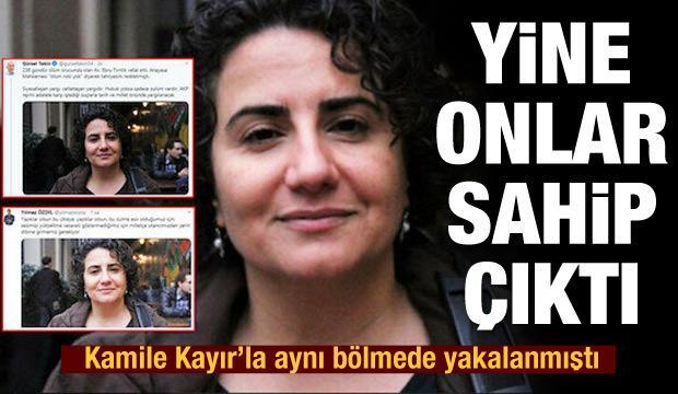 DHKP-C'li Ebru Timtik'e CHP'li siyasetçi ve gazeteciler sahip çıktı