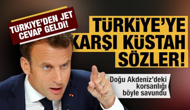 Fransa Cumhurbaşkanı Macron'dan Türkiye'ye karşı küstah sözler