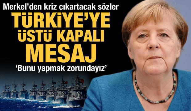 Merkel'den şoke eden Yunanistan çıkışı! Türkiye'ye üstü kapalı mesaj: Bunu yapmak zorundayız