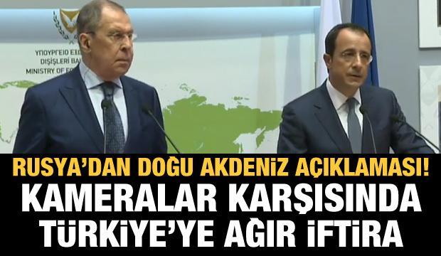 Rusya'dan yeni Doğu Akdeniz açıklaması! Güney Kıbrıs'tan Türkiye'ye ağır iftira