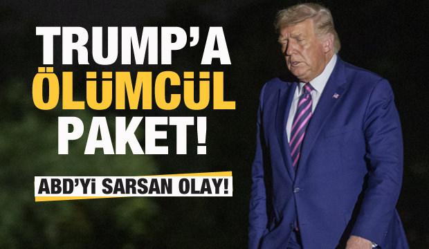 ABD'yi sarsan olay! Trump'a ölümcül paket