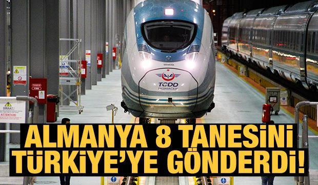 Almanya 12 YHT Setinin 8'Ini Türkiye'ye Teslim Etti