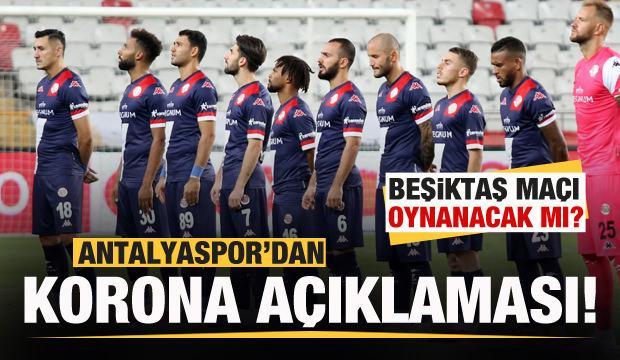 Antalyaspor'dan koronavirüs açıklaması: Maç oynanacak mı?