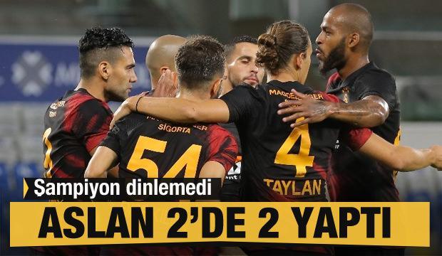 Galatasaray şampiyon dinlemedi