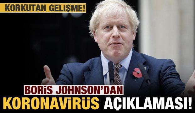 İngiltere Başbakanı Johnson'dan korkutan koronavirüs açıklaması