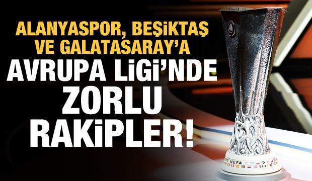 İşte Avrupa Ligi play off turundaki rakiplerimiz!