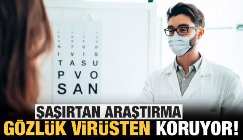 Şaşırtan koronavirüs araştırması: Gözlük koronavirüsten koruyor