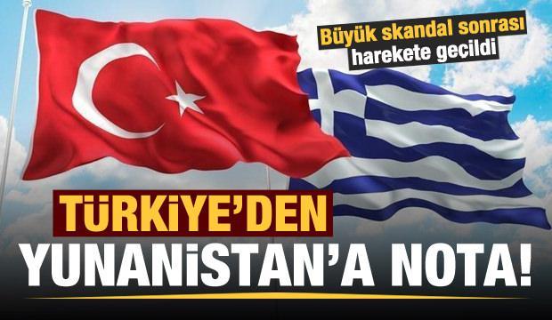 Son dakika: Büyük skandal sonrası Türkiye'den Yunanistan'a nota!