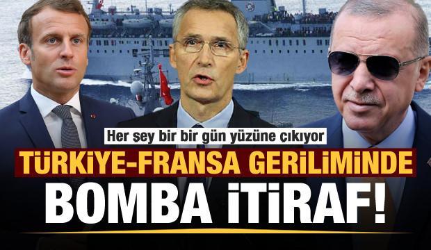 Son dakika: Türkiye-Fransa geriliminde bomba itiraf!