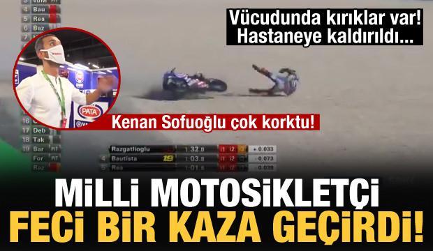 Toprak Razgatlıoğlu feci bir kaza geçirdi!