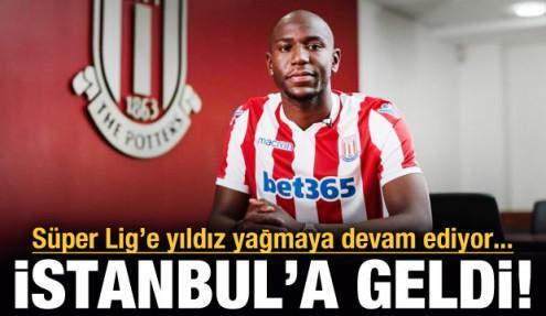 Trabzonspor'un yeni golcüsü İstanbul'a geldi!