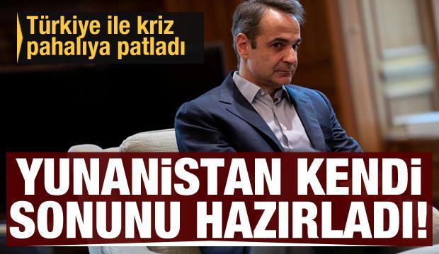 Türkiye ile kriz Yunanistan'a pahalıya patladı! Yunanistan kendi sonunu hazırladı...