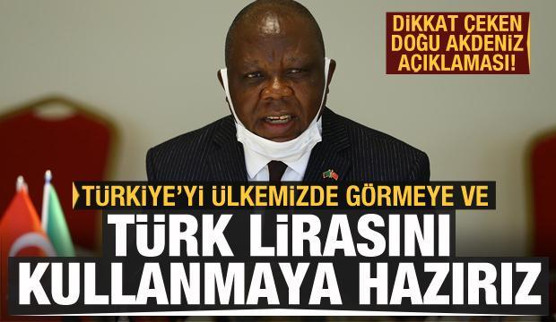 """""""Türkiye'yi ülkemizde görmeye ve Türk Lirası'nı kullanmaya hazırız"""""""