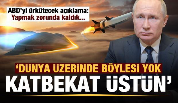Vladimir Putin: Kimsede böylesi yok, katbekat daha üstün!