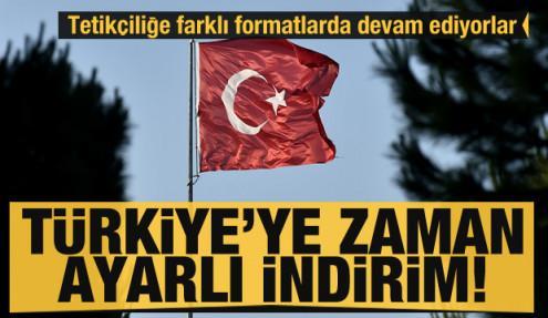 Türkiye'ye karşı zaman ayarlı indirim! Tetikçiliğe devam ediyorlar