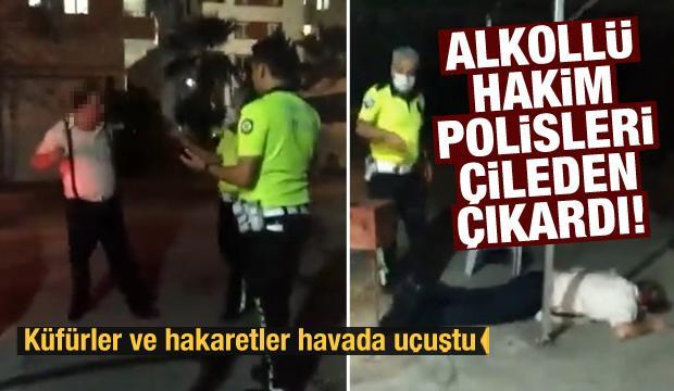 Adana'da alkollü yakalanan hakim H. Y. polislere saldırıp küfretti
