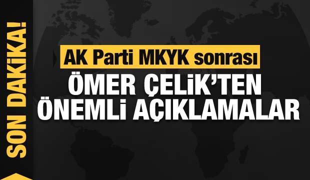 AK Parti MKYK sonrası önemli açıklamalar