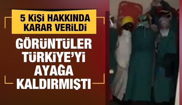 Ankara'da sağlık çalışanlarına saldırıda 2 kişi tutuklandı