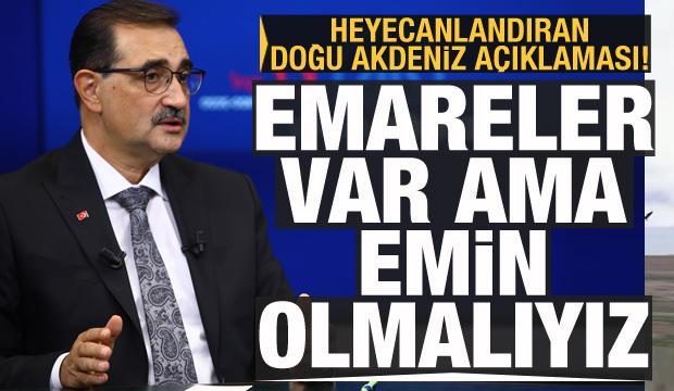 Bakan Dönmez'den Akdeniz ile ilgili heyecanlandıran açıklama: Emareler var