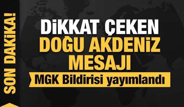 Başkan Erdoğan başkanlığındaki MGK toplantısı sona erdi