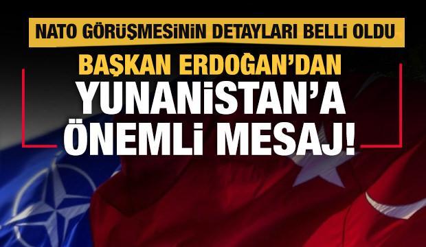 Başkan Erdoğan ile NATO Genel Sekreteri Stoltenberg görüştü!