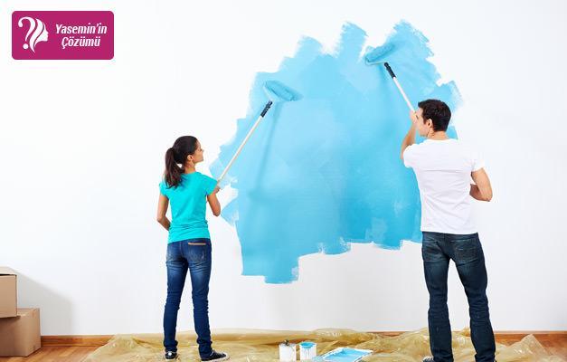 Duvar boyası yapmak sandığınızdan daha kolay!