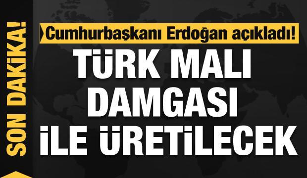 Cumhurbaşkanı Erdoğan: Geleceğin teknolojileri Türk malı damgasıyla üretilecek