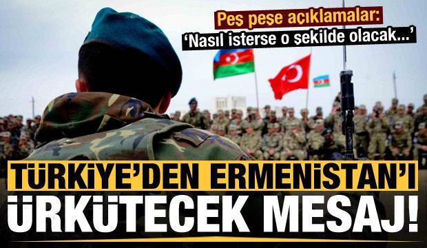 Ermenistan'ın hain saldırıları sonrası Türkiye'den peş peşe son dakika açıklamaları!