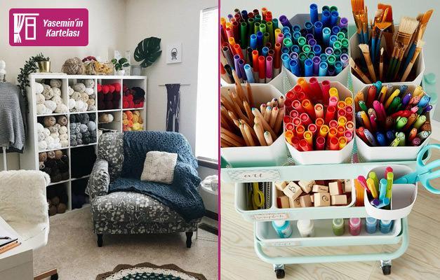 Evlerde hobi köşeleri nasıl yapılır? Hobi köşesi hazırlamanın yolları