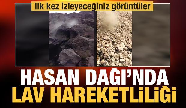 Hasan Dağı faaliyete geçti! ilk kez izleyeceksiniz