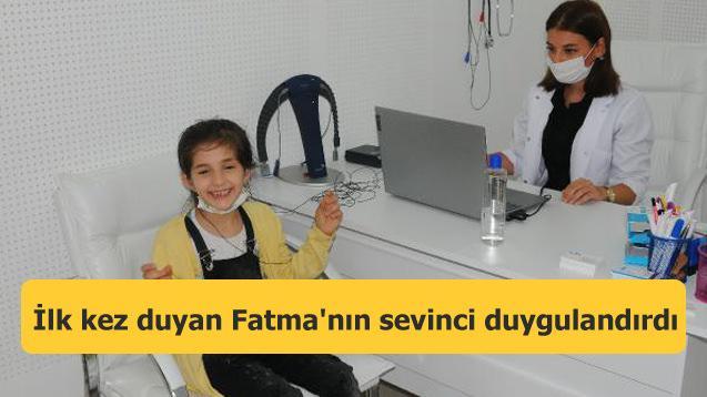 İlk kez duyan Fatma'nın sevinci duygulandırdı