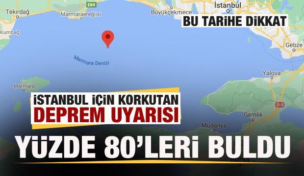 İstanbul için korkutan deprem uyarısı: Bu tarihe dikkat...