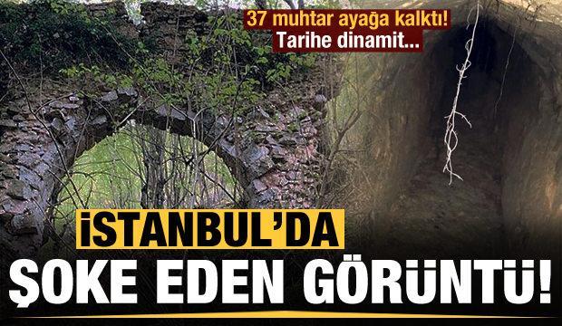 İstanbul'da şoke eden görüntü! 37 birlik olup ayaklandı...