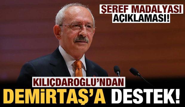 Kılıçdaroğlu: Demirtaş bu iddianameleri şeref madalyası olarak takacak