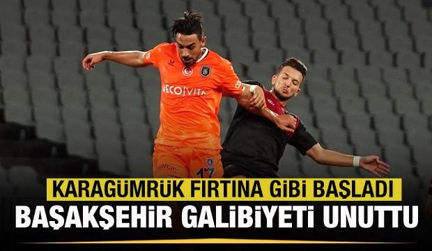 Medipol Başakşehir galibiyeti unuttu!