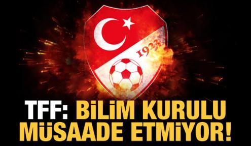 Nihat Özdemir: Taraftar isteğimiz reddedildi!