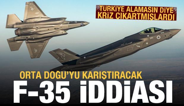 Reuters'tan Orta Doğu'yu karıştıracak F-35 iddiası