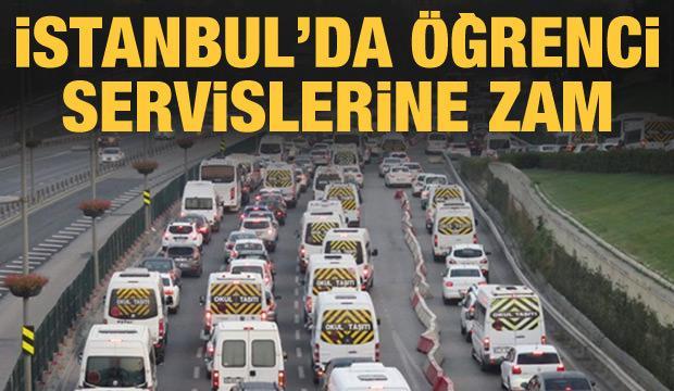 Son dakika haberi: İstanbul'da öğrenci ve personel servislerine zam!