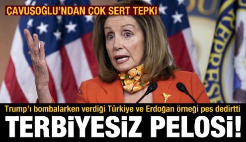 Pelosi'nin Türkiye ve Erdoğan açıklaması kriz çıkardı! Cumhurbaşkanlığı'ndan tepki