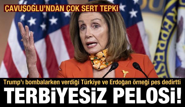 Pelosi'nin Türkiye ve Erdoğan açıklaması kriz çıkardı! Türkiye'den peş peşe sert tepki